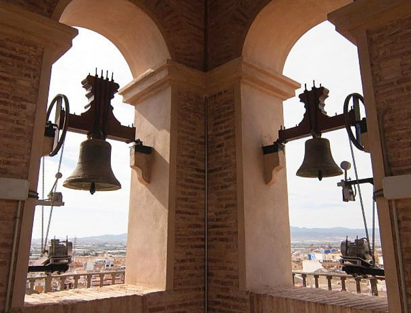 28th April free guided visit of historic Totana including church tower