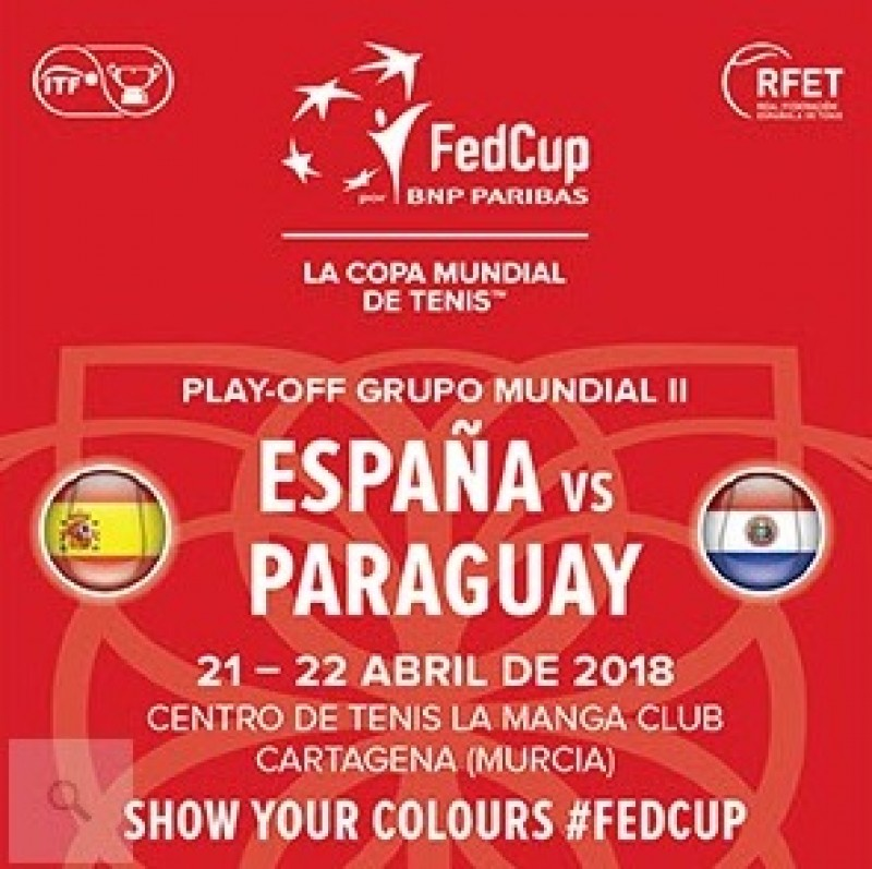 <span style='color:#780948'>ARCHIVED</span> - 21st and 22nd April Federation Cup Spain Vs. Paraguay at La Manga Club