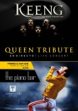 Friday 27th April top Queen tribute act in the Piano Bar, La Manga Club