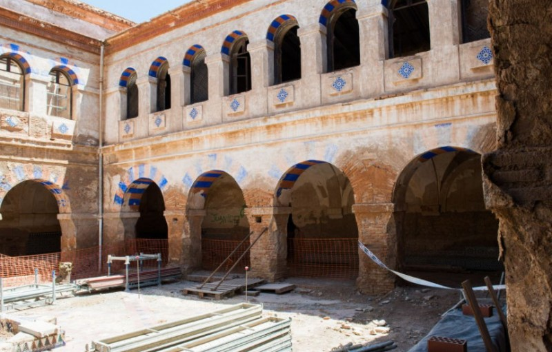 <span style='color:#780948'>ARCHIVED</span> - Restoration work set to re-commence at the monastery of San Ginés de la Jara