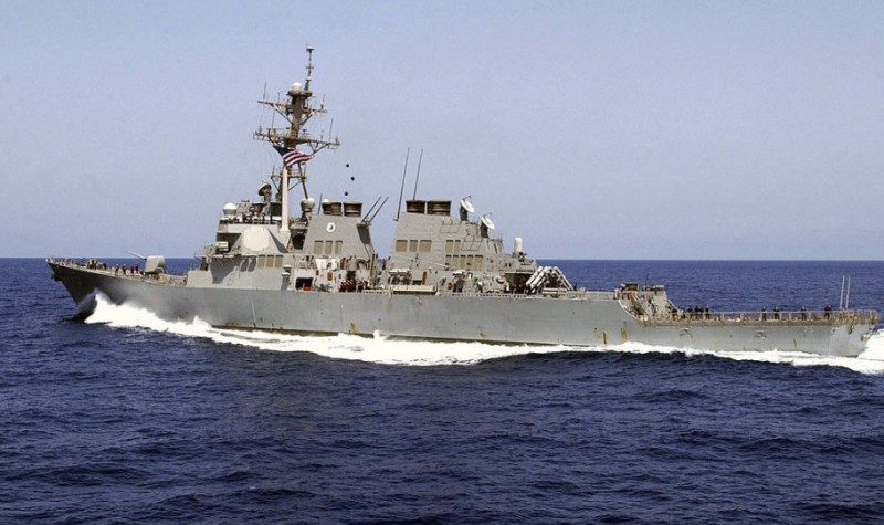 Spanish-based destroyer and aircraft involved in military strikes against Syria