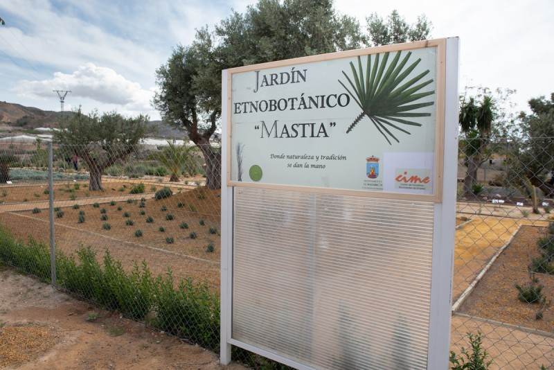 Botanical educational garden in Mazarrón