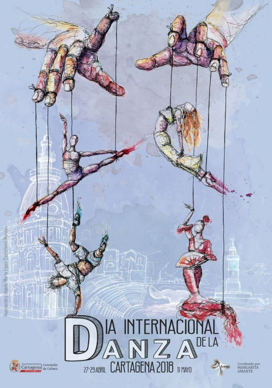 27th, 28th and 29th April International dance day activities in Cartagena