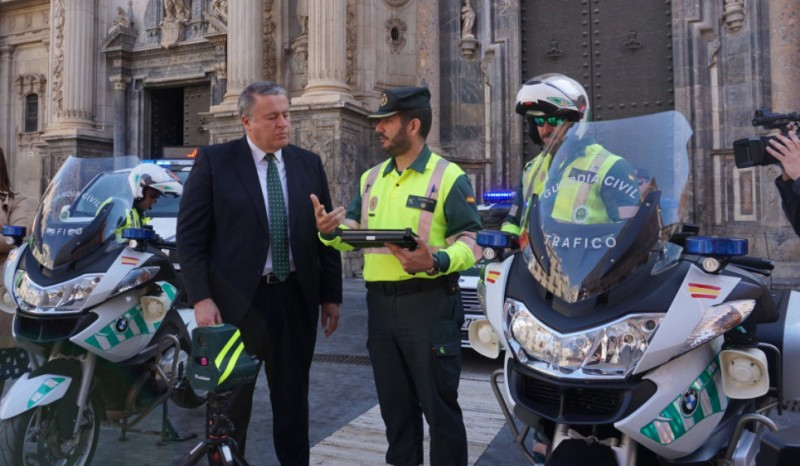 Guardia Civil traffic police now fully kitted out for more speed traps and breath tests