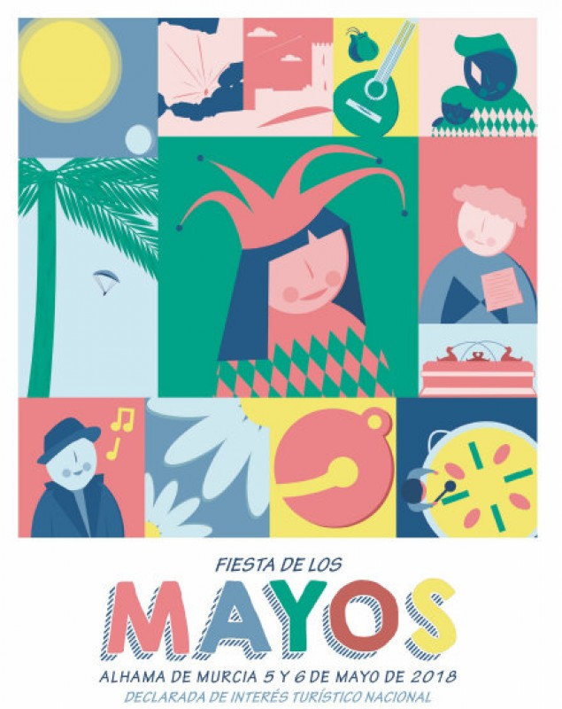 27th April to 6th May, Los Mayos fiestas in Alhama de Murcia: full programme