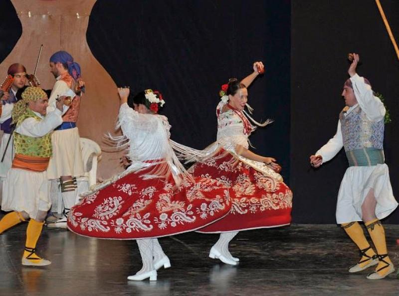 28th April Free entry folkdancing festival in Alhama de Murcia Los Mayos 2018