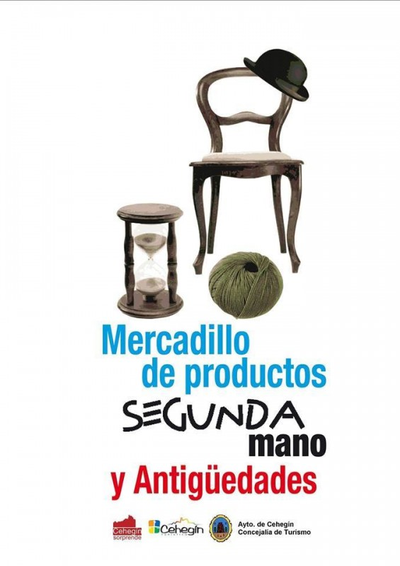 22nd April second hand, antiques and collectables market Cehegín