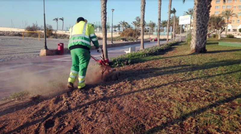 Águilas goes for greenery as improvements are made to the townscape