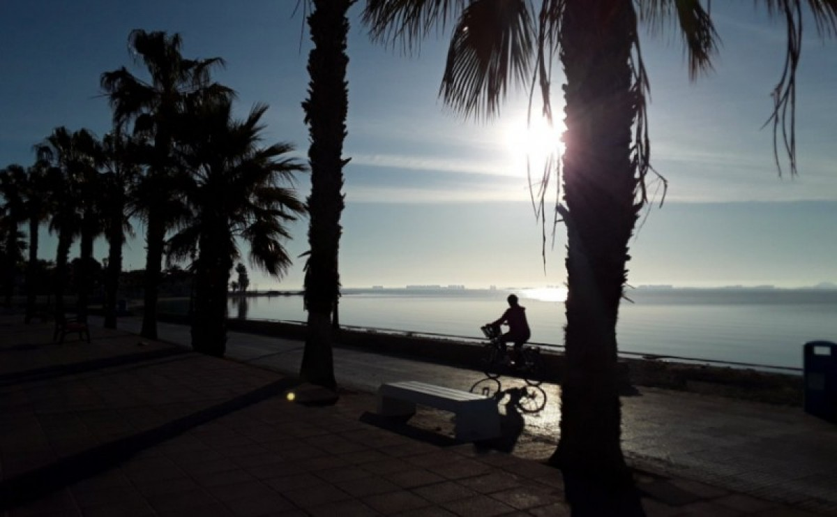 Warm and sunny over the weekend in the Costá Cálida