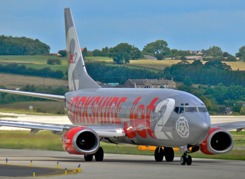 Corvera airport appears on Jet2 website as a destination