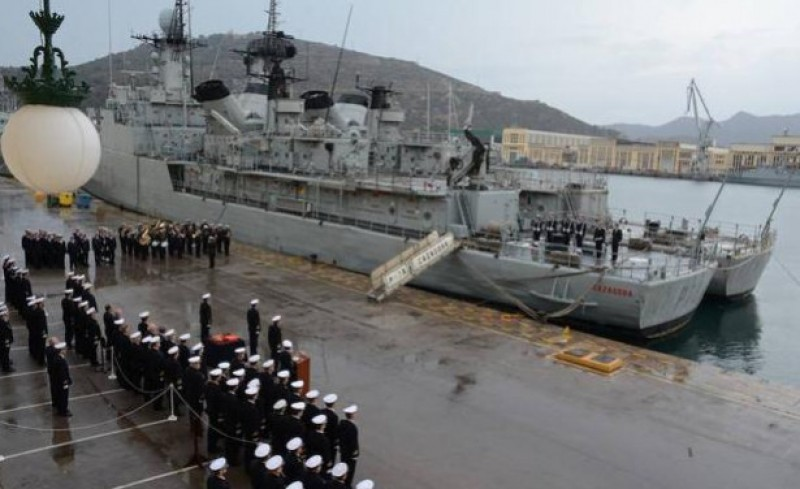 <span style='color:#780948'>ARCHIVED</span> - Spanish navy patrol ship retired in Cartagena after 36 years of service