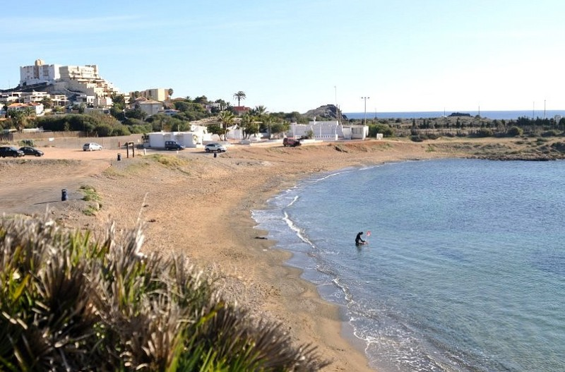 Cartagena beaches: Cala Reona in Cabo de Palos