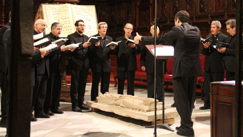 17th May Free concert Murcia city: Gregorian mass in Murcia Cathedral