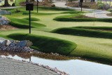 Golfdelux is Continental Europe´s biggest artificial grass adventure golf course Los Alcazares