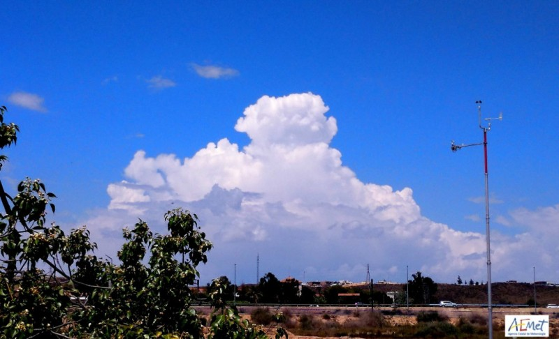 Thunderstorms again on Thursday in the Region of Murcia