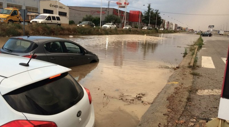 More flooding as thunderstorms hit the Region of Murcia again