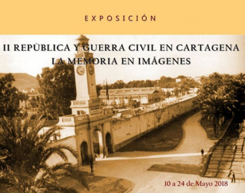 <span style='color:#780948'>ARCHIVED</span> - Until 24th May, historical photography exhibition at the Centro Ramón Alonso Luzzy in Cartagena
