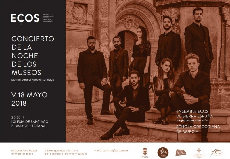 18th May FREE concert in Totana: Ensemble Ecos and the Schola Gregoriana de Murcia