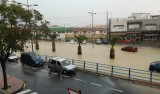 Flooding in Alhama de Murcia and the west of Murcia