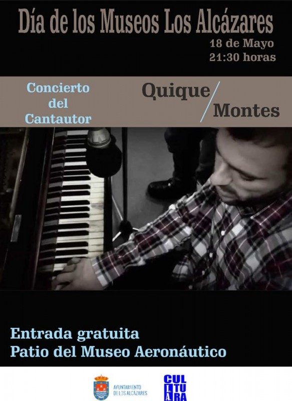 18th May Free concert and workshops for International Museums Day Los Alcázares