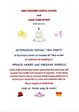22nd May Royal Wedding Party with Age Concern on Camposol