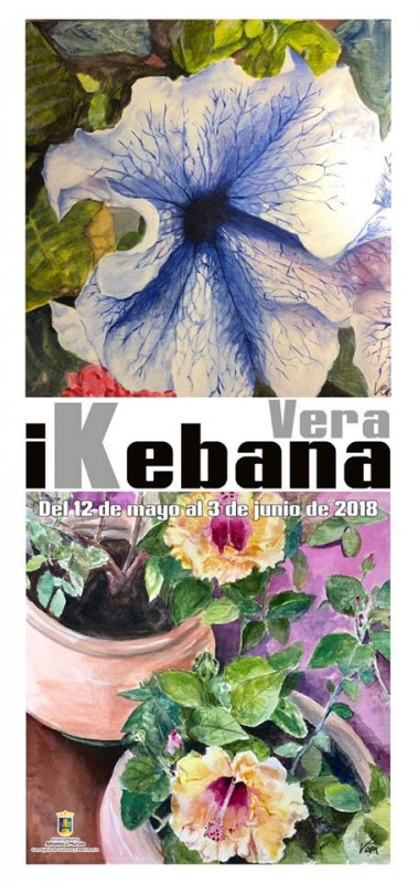 12th May-3rd June Ikebana in Alhama de Murcia