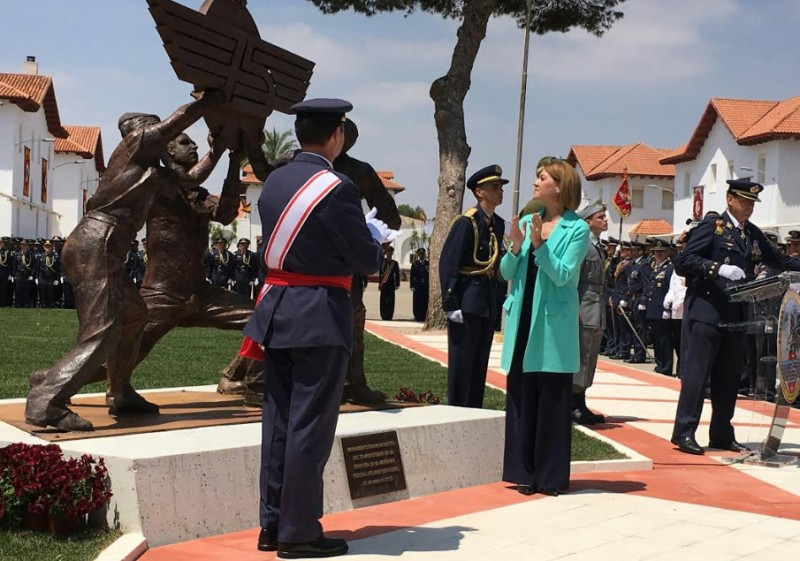 75th anniversary celebrations continue at the Academia General del Aire in San Javier
