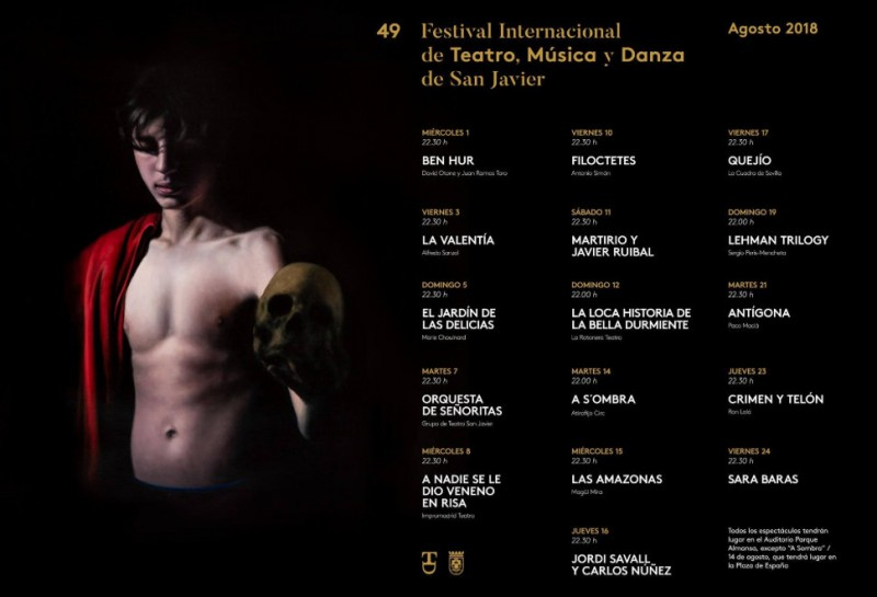 2018 San Javier Theatre, Music and Dance Festival presented