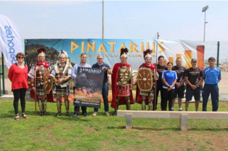 23rd June, Roman obstacle madness at the Pinatarius Obstaculum Cursus in San Pedro del Pinatar