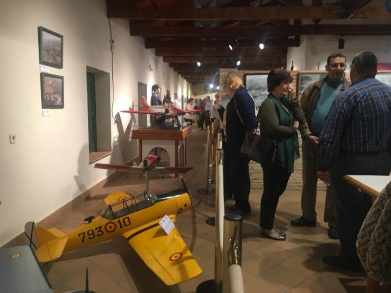 15th May to 10th June 75th Anniversary exhibition of the San Javier Air Academy