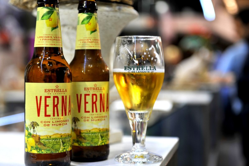 Verna: Murcian lemon flavoured beer is refreshingly good!
