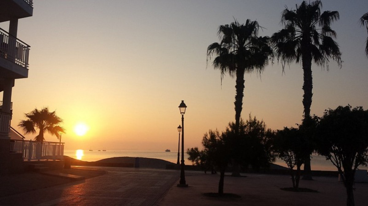 30 degrees in Murcia on Tuesday, more of the same for Wednesday