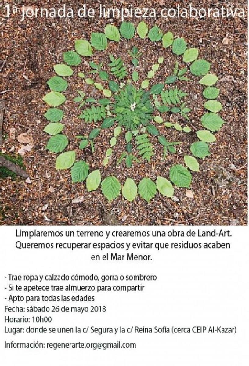 Saturday 26th May collective clean-up volunteer activity in Los Alcázares