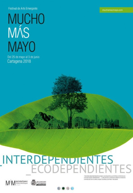 <span style='color:#780948'>ARCHIVED</span> - 25th May to 5th June, Mucho Más Mayo emerging art festival in Cartagena