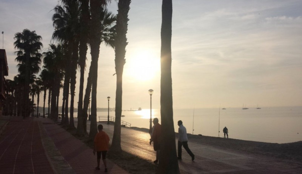 31 degrees in Murcia on Wednesday, possibly slightly cooler on Thursday