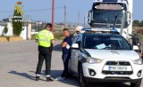 Truck driver detained in Cieza with 9 times the legal limit of alcohol in his blood