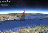 Meteorite plunges into the sea near Murcia at 90,000 km/h