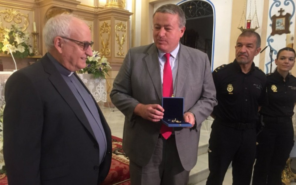 Jewelry returned to the church of Churra just days after being stolen