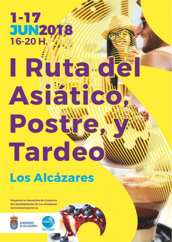 1st to 17th June Los Alcázares desserts and Asiático route