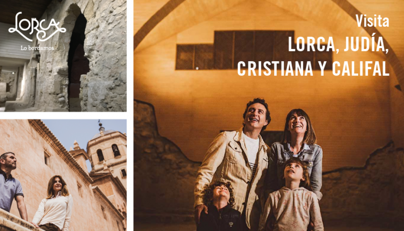 7th July: a full day in Lorca for 10€ exploring its Jewish, Moorish and Christian roots