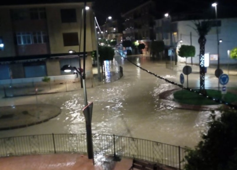Flooding in northern Murcia as June begins with heavy storms