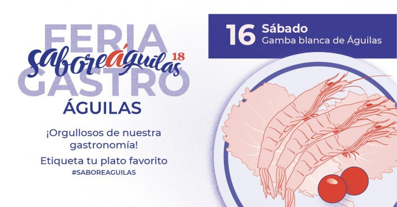 15th to 17th June showcooking, tapas and gastronomy in Águilas gastronomic feria
