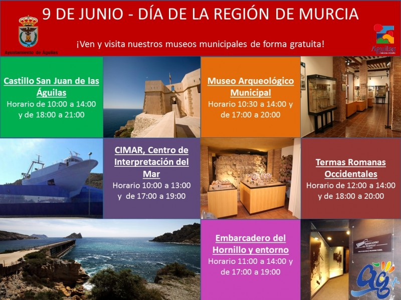 What's on agenda for Águilas June 2018