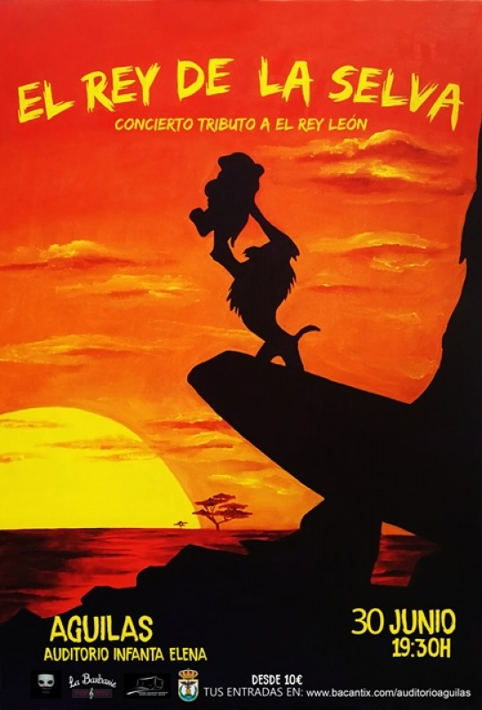 30th June Children's Musical Águilas: The Lion King