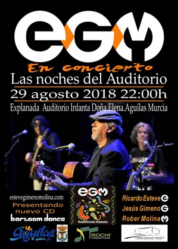 29th August Free open-air concert with EGM in Águilas