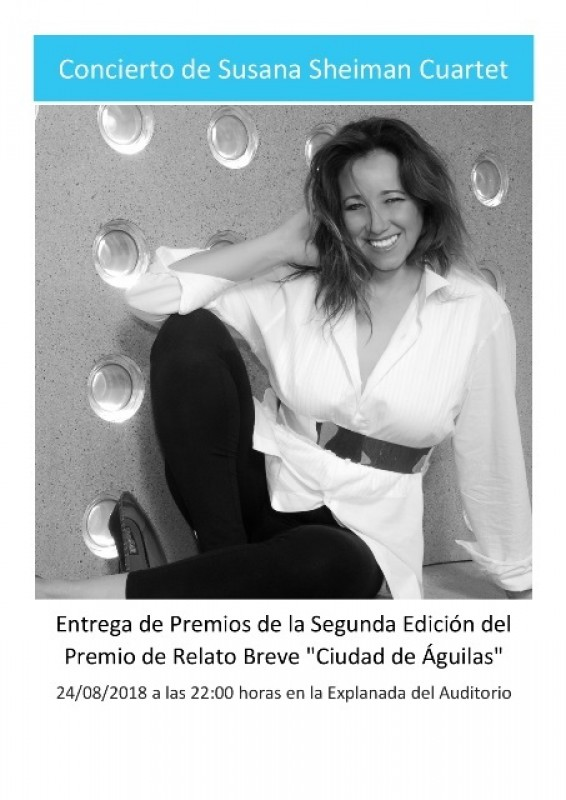 24th August Free concert in Águilas: The Susana Sheiman Cuartet