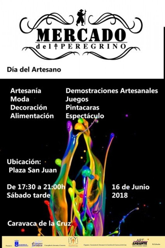 16th June Evening artisan market in Caravaca de la Cruz