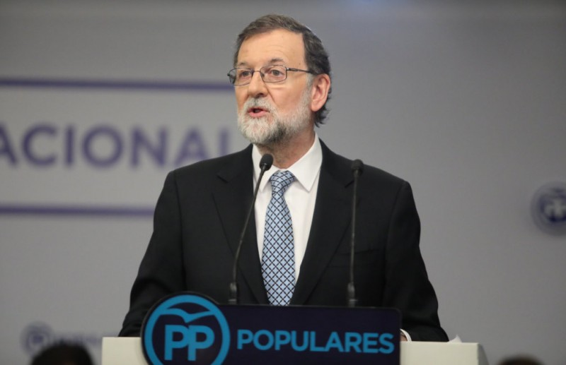 <span style='color:#780948'>ARCHIVED</span> - Former Spanish PM resigns as PP leader
