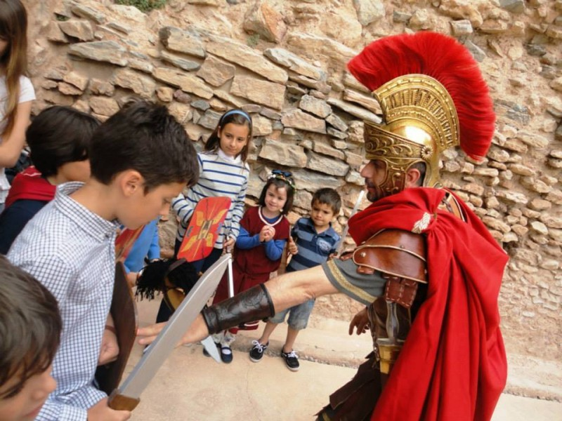 <span style='color:#780948'>ARCHIVED</span> - Every Saturday in September: Family activity in the Roman Theatre Museum in Cartagena
