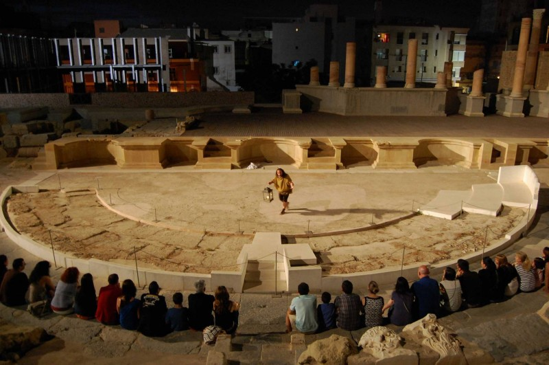 August 18th Theatrical evening tour of the Roman Theatre Museum